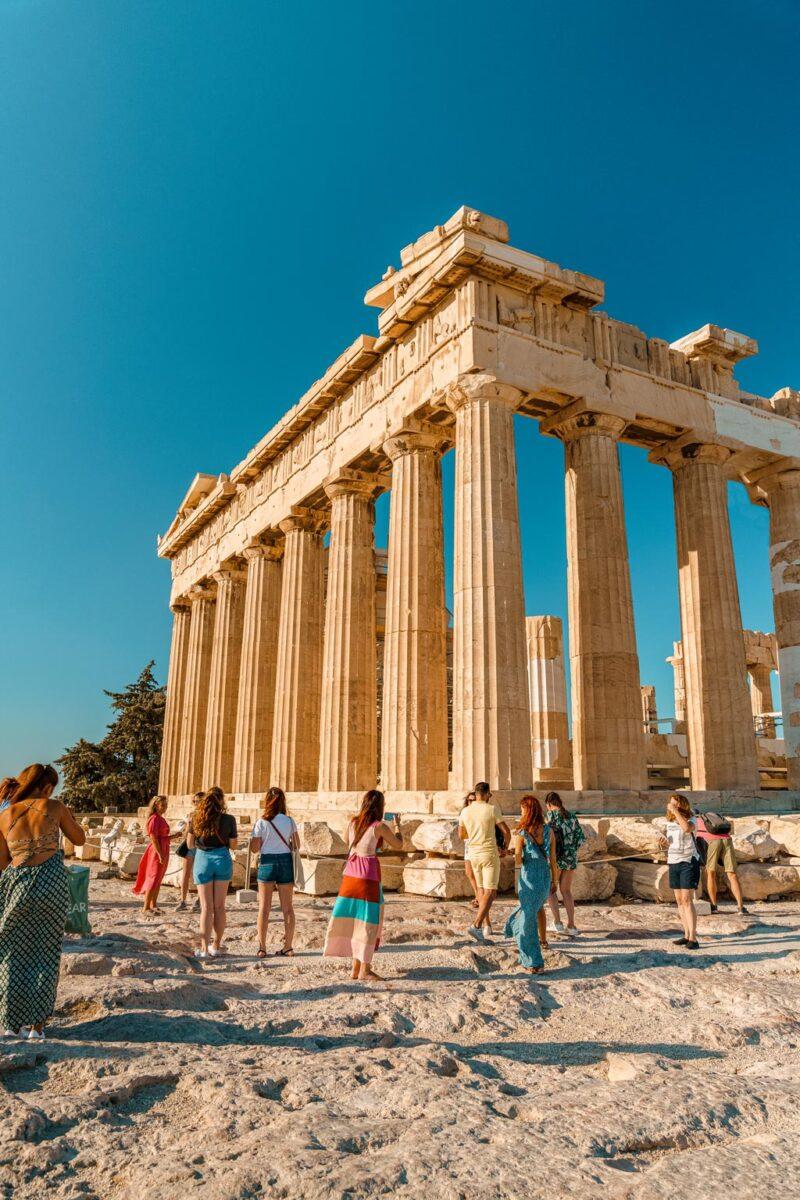 Parthenon Acropolis of Athens