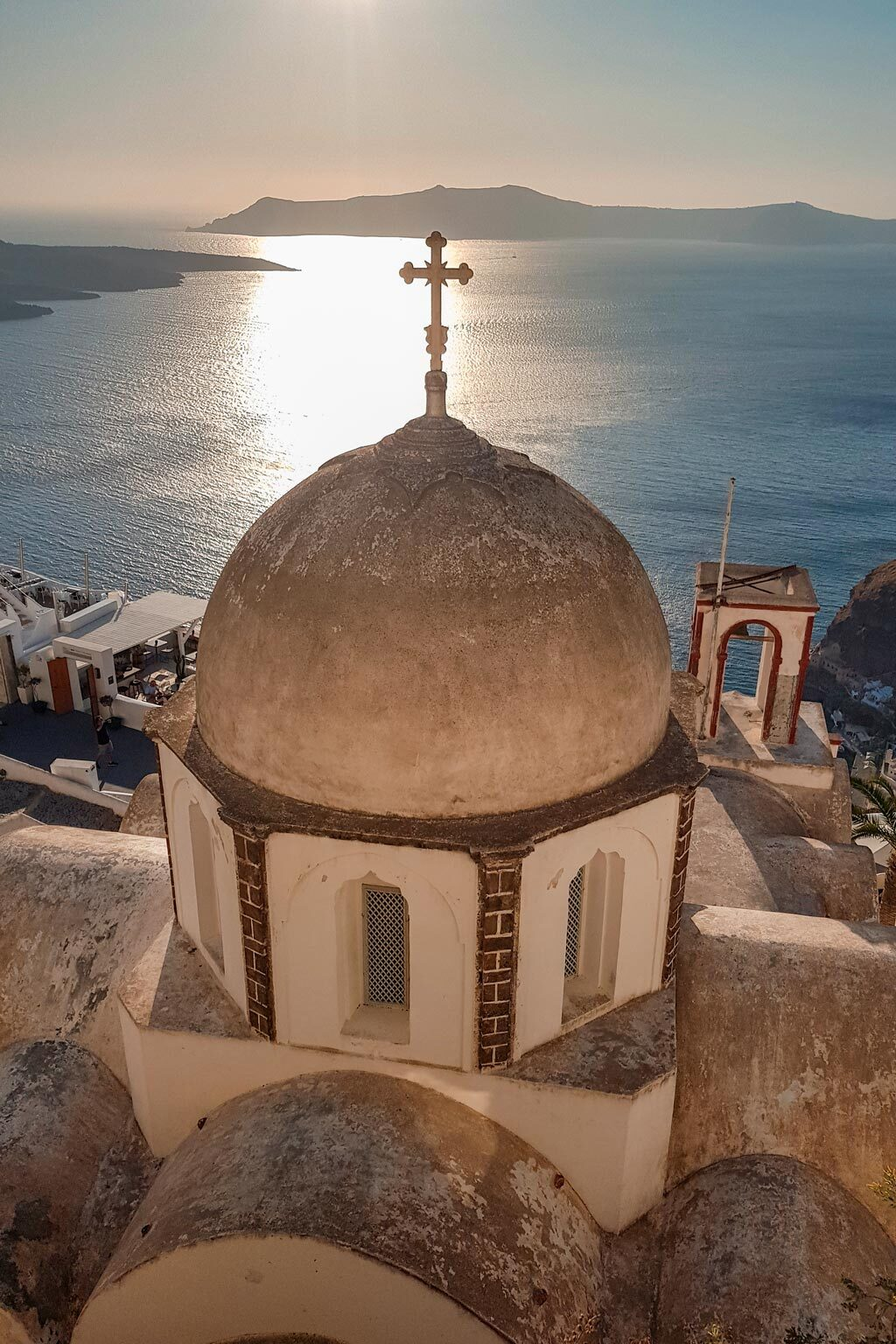 Eastern Orthodox Church in Fira Greece