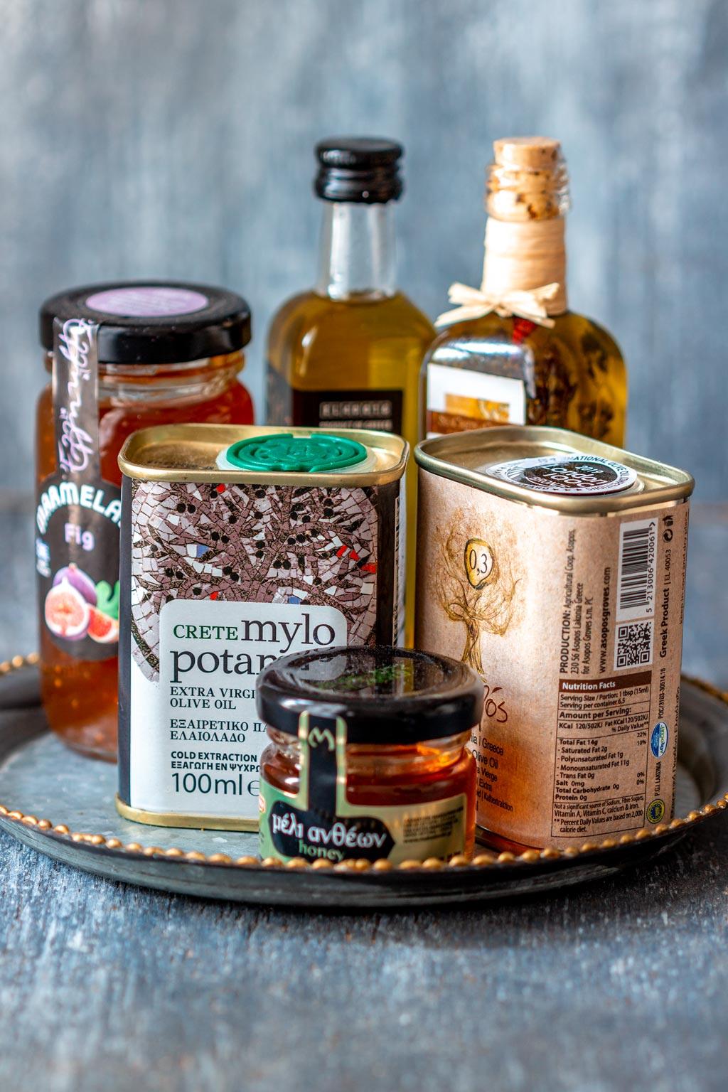 Edible Greek Souvenirs for Foodies