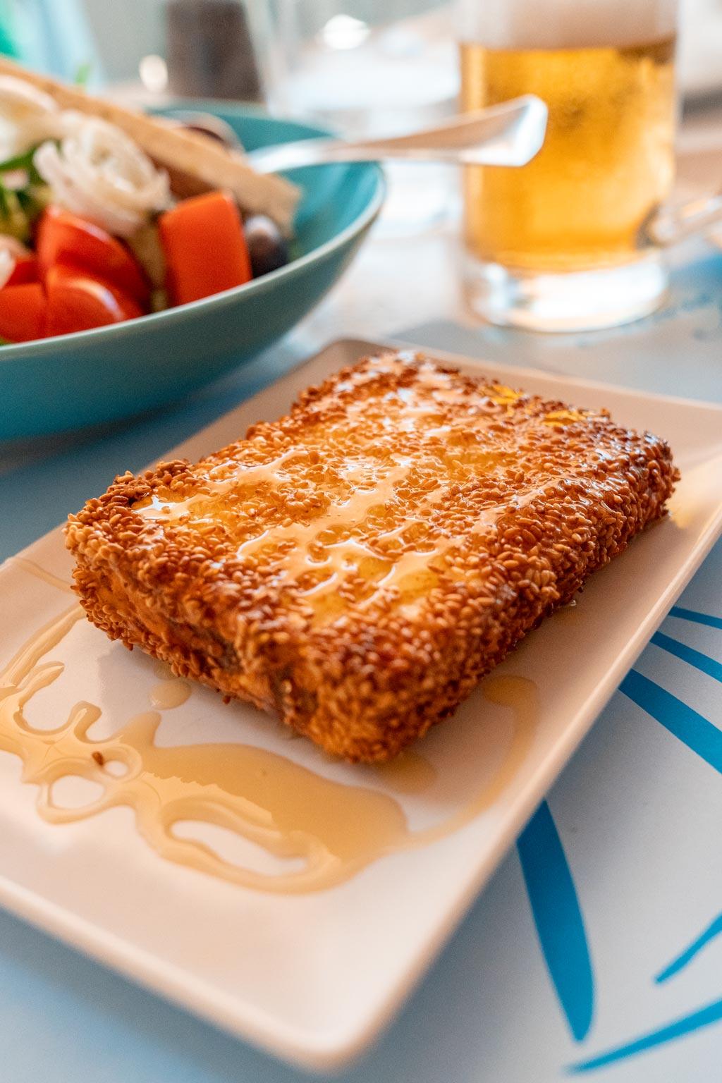 Fried Feta