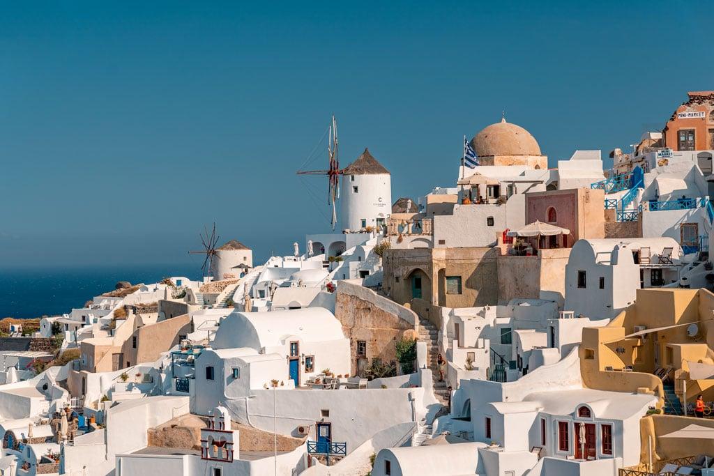 Photography Spots Windmills in Santorini