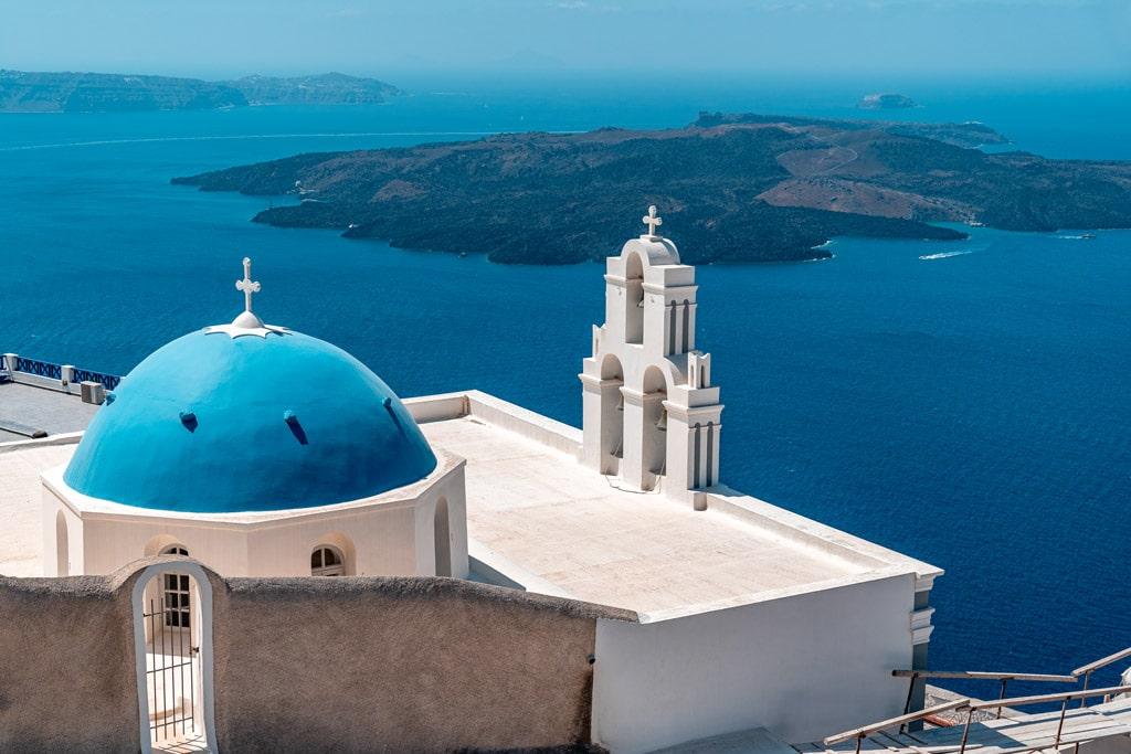 Virgin Mary Orthodox Church Fira Santorini