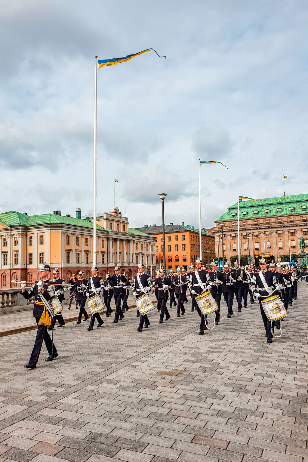 Changing of the Guards Stockholm