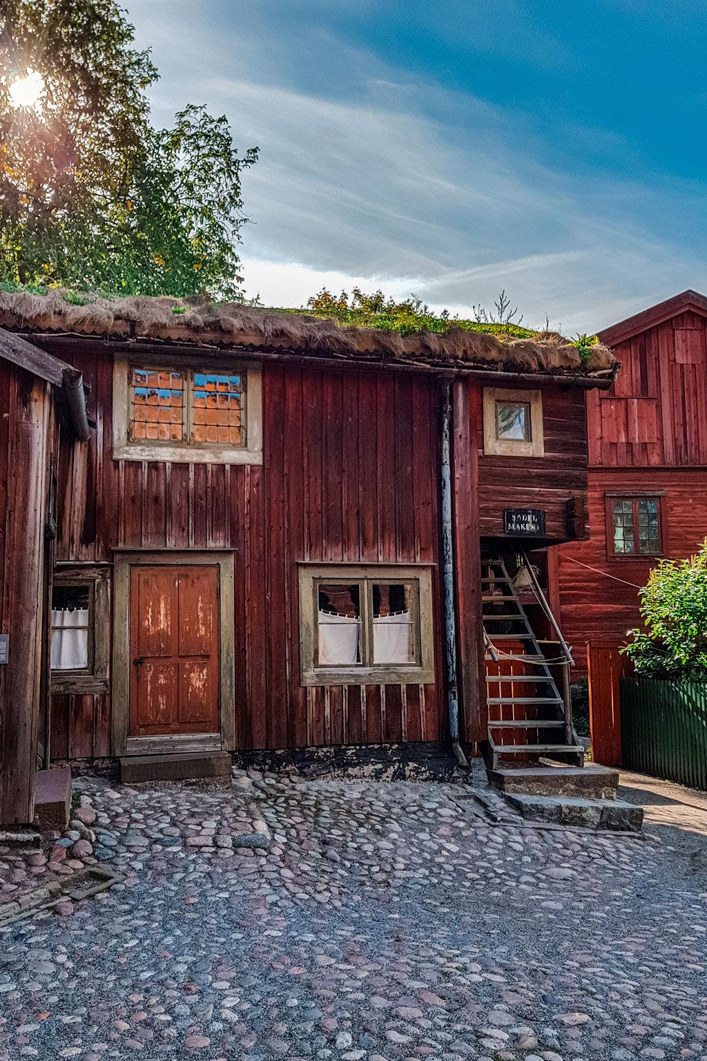 Traditional Wooden House Skansen
