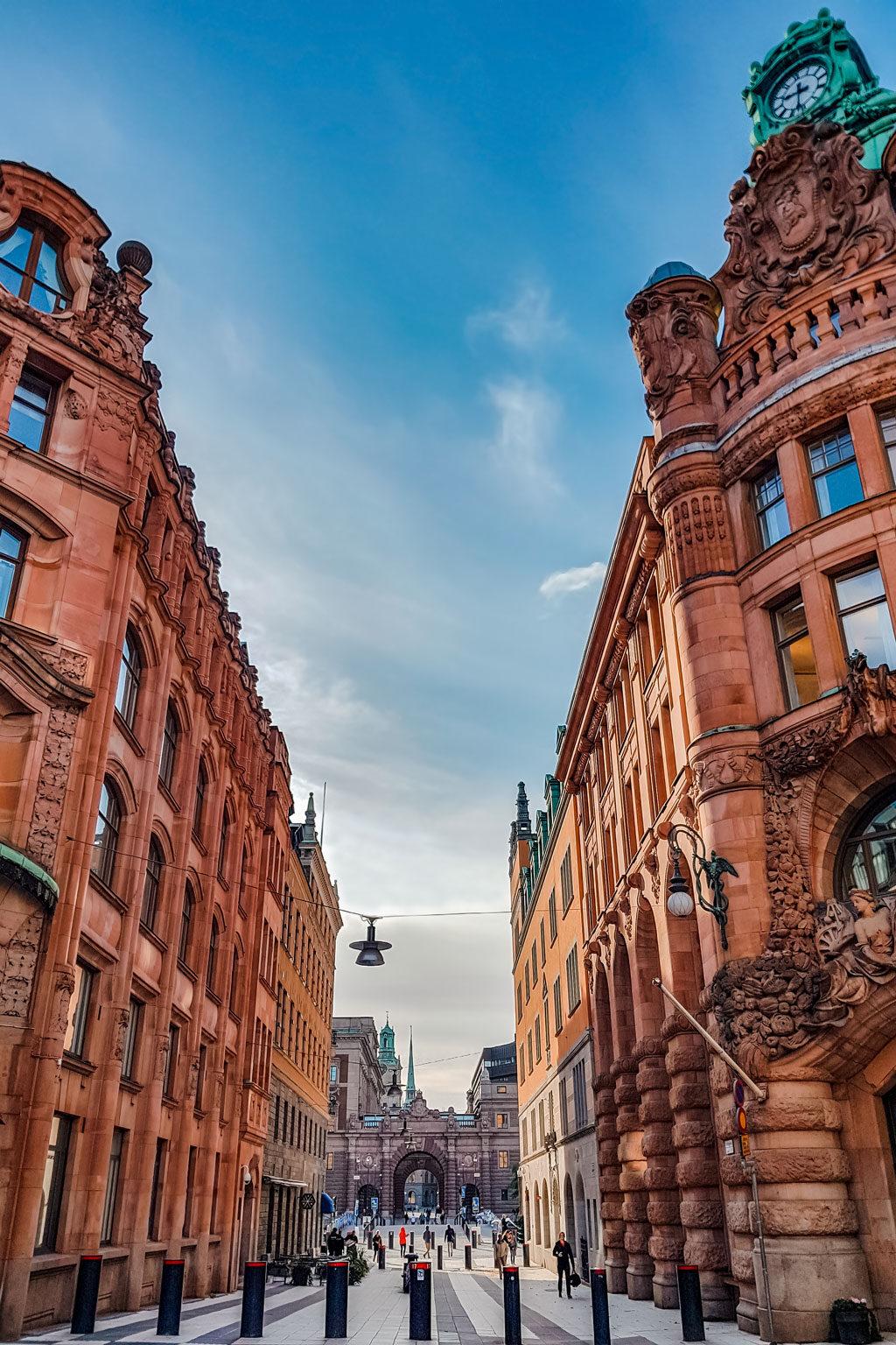 Stockholm City Centre Historical Buildings