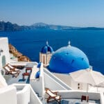 Greek Island Hoping Pin