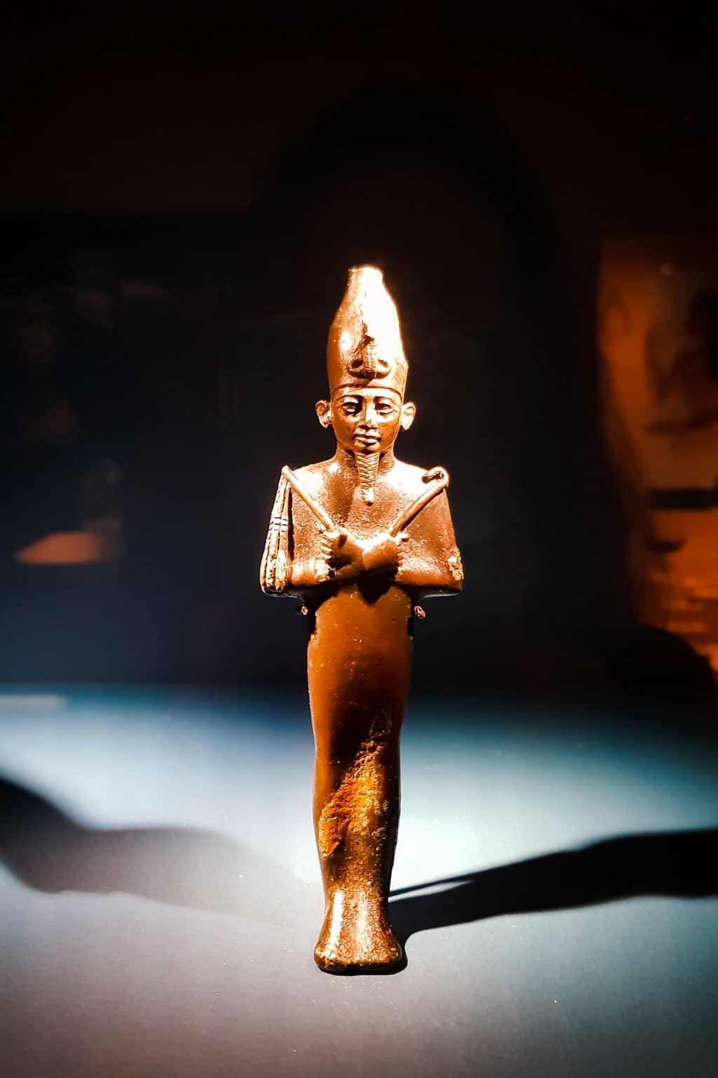 Egyptian Statue at Medelhavsmuseet