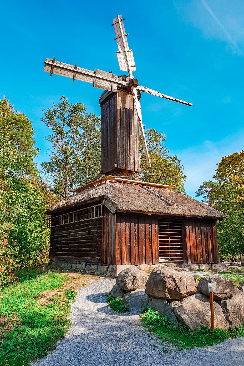 Stockholm Open Air Museum Windmill