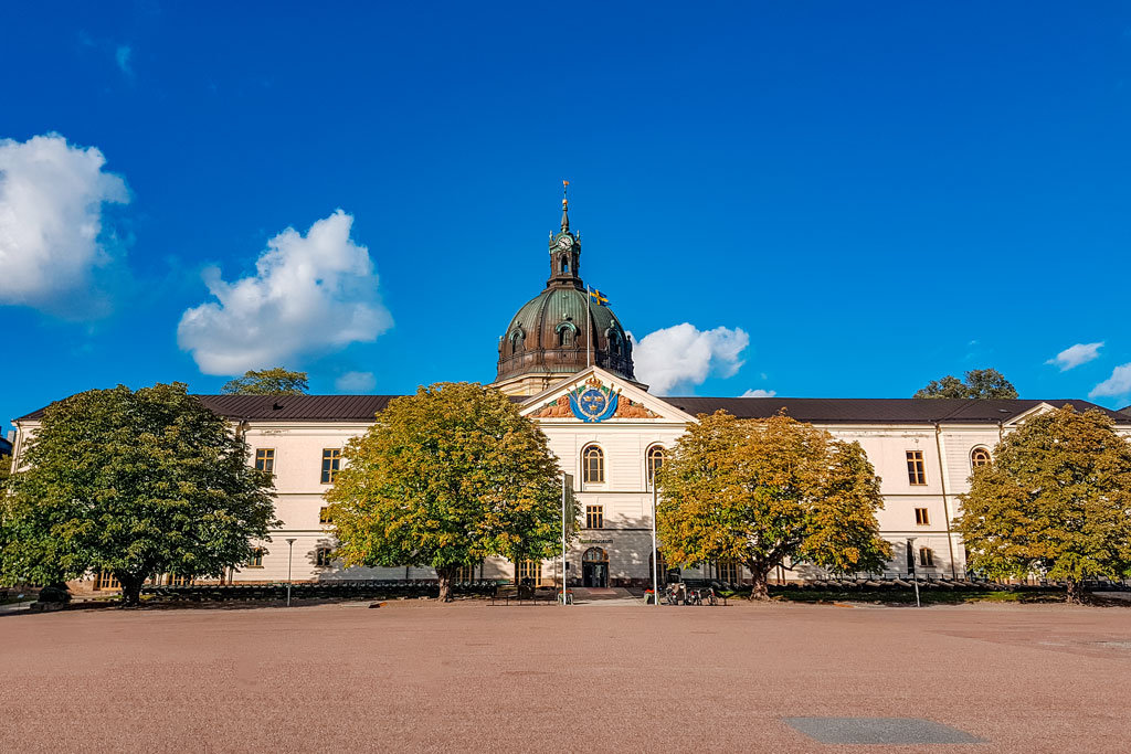 Stockholm Swedish Army Museum Building
