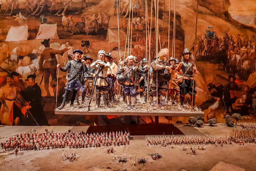 Stockholm Swedish Army Museum Figurines