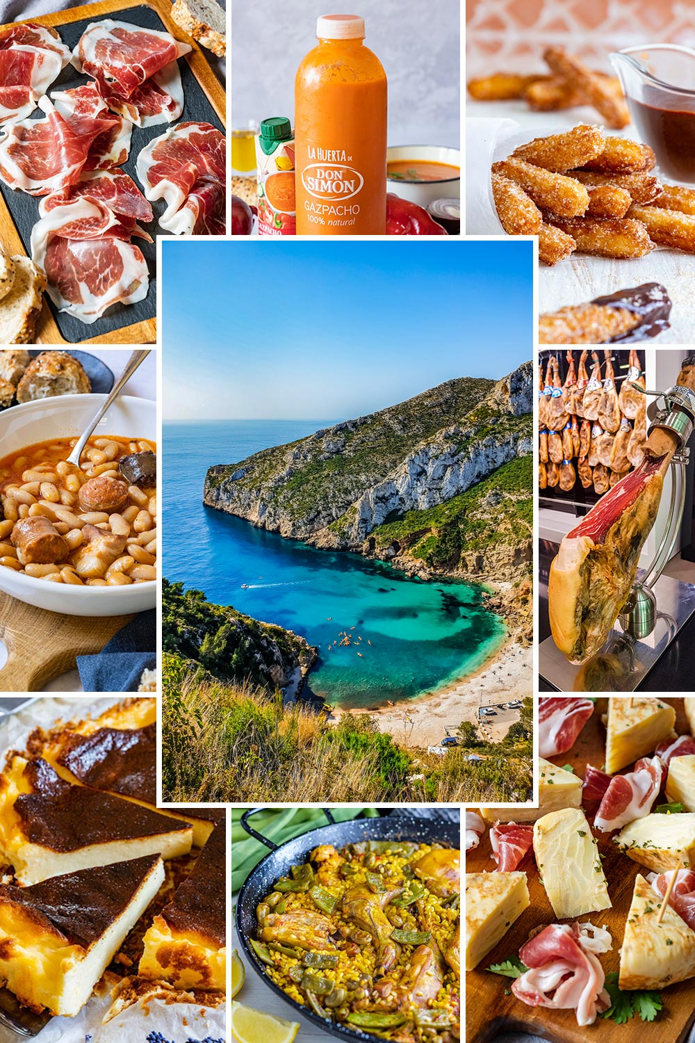 Popular Spanish foods to try when traveling in Spain