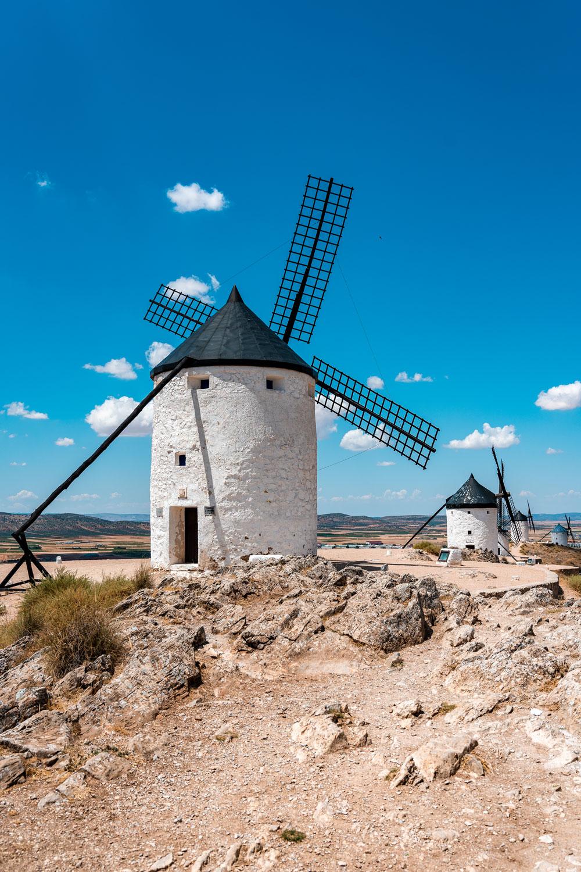 Famous Spanish windmills in Consuegra