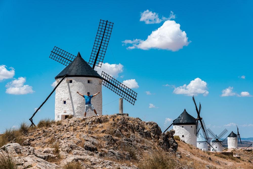 Visiting Consuegra windmills