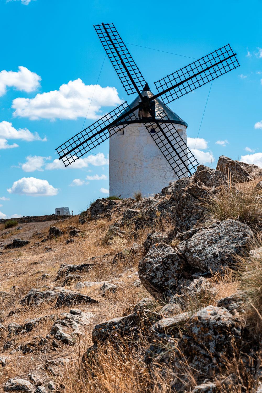 Windmill in Consuegra, Spain