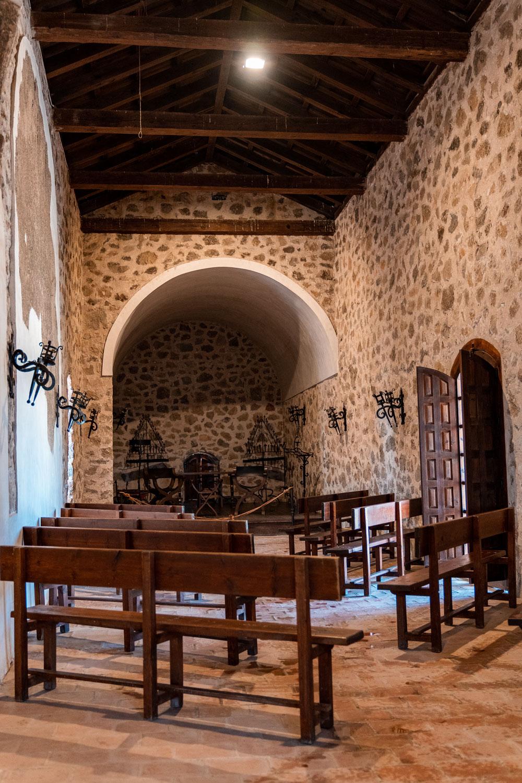 Consuegra castle interior