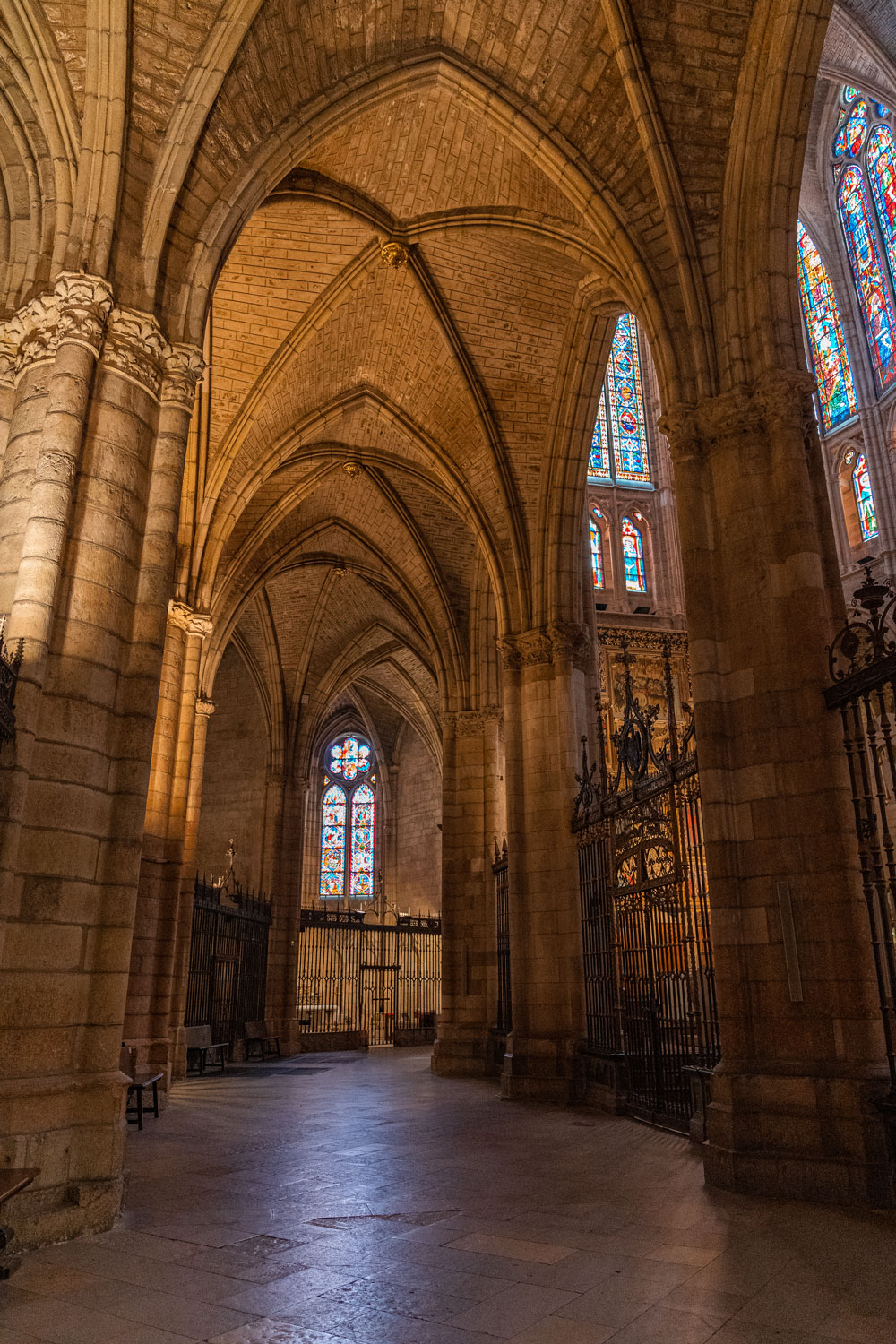 Interior of the Cathedral of Leon