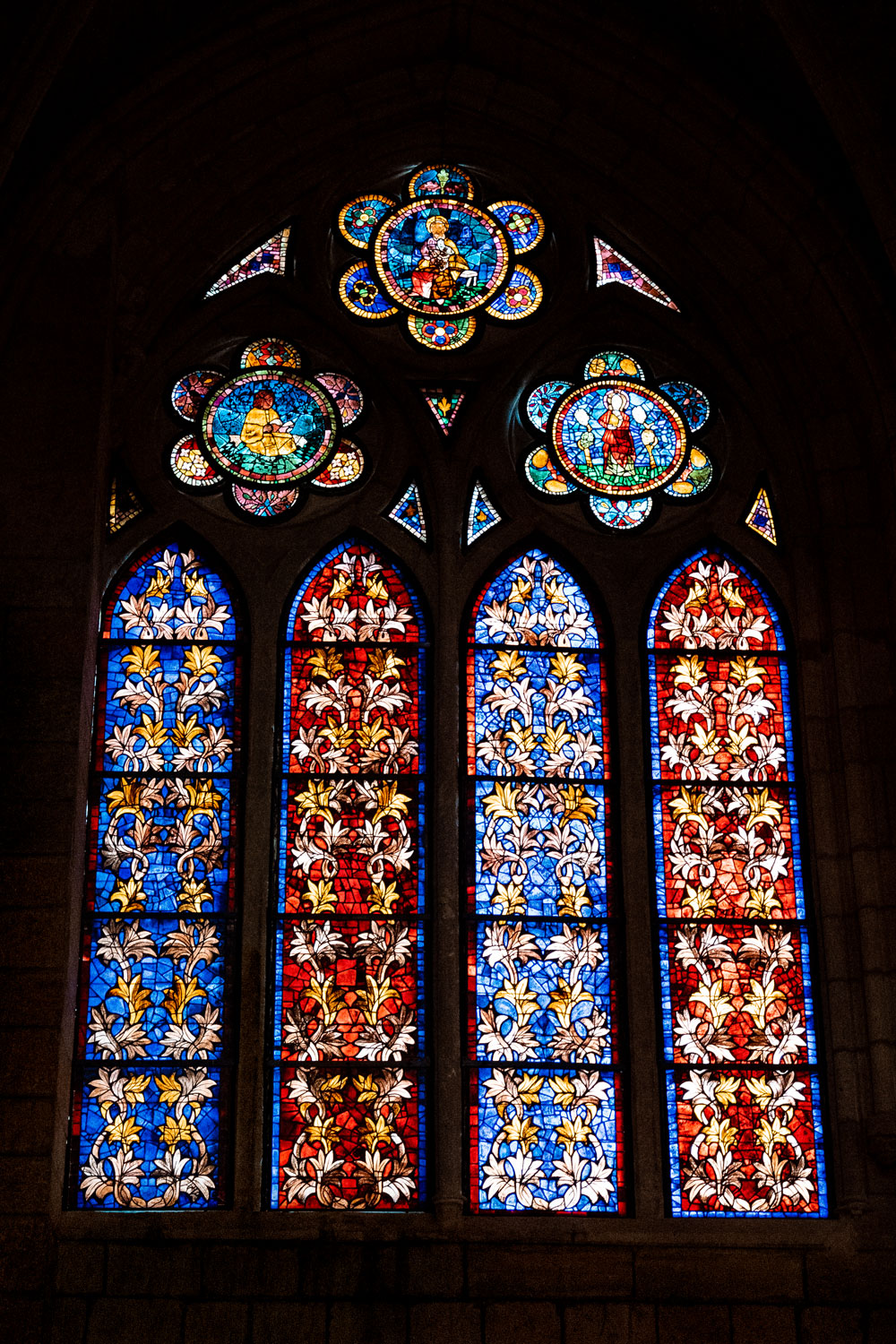 Most beautiful stained glass windows at the Cathedral