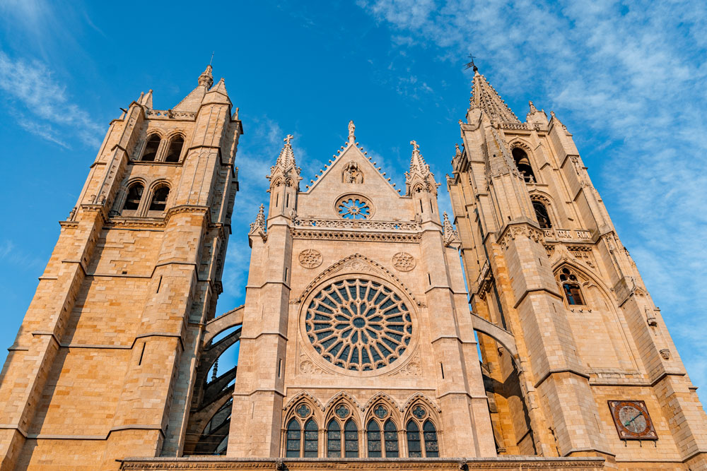 Towers of the Leon Cathedral