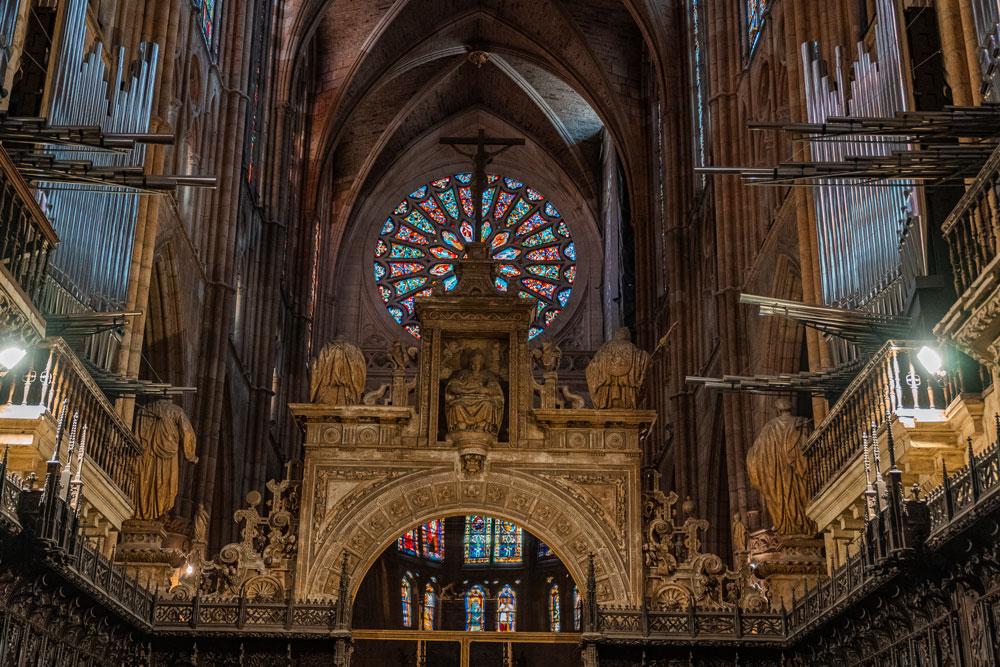 Massive Organ at the Cathedral
