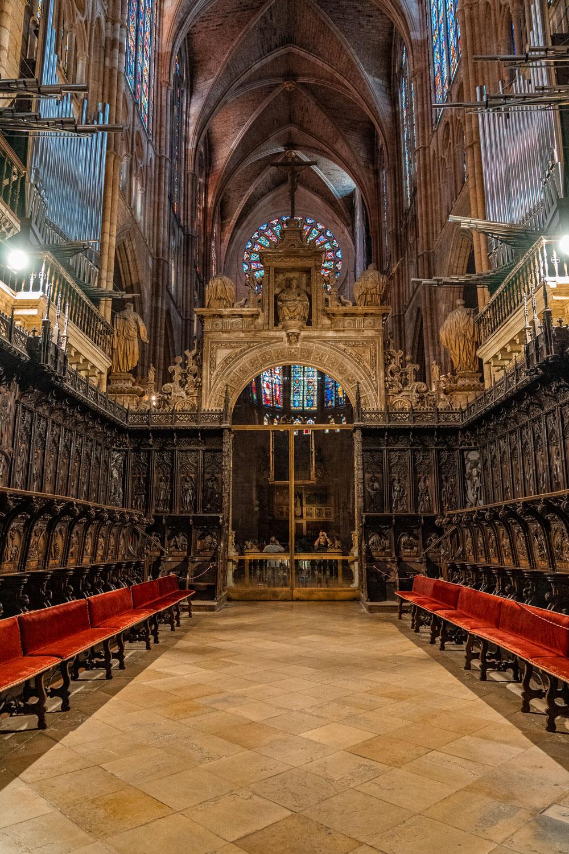 Organ and the Choir Seats