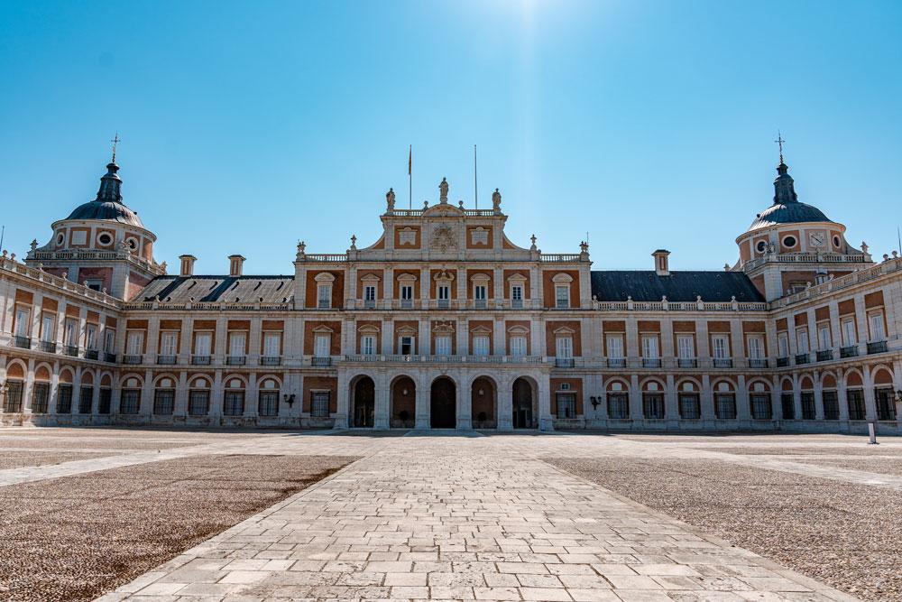 Courtyard at the Royal Palace of Aranjuez