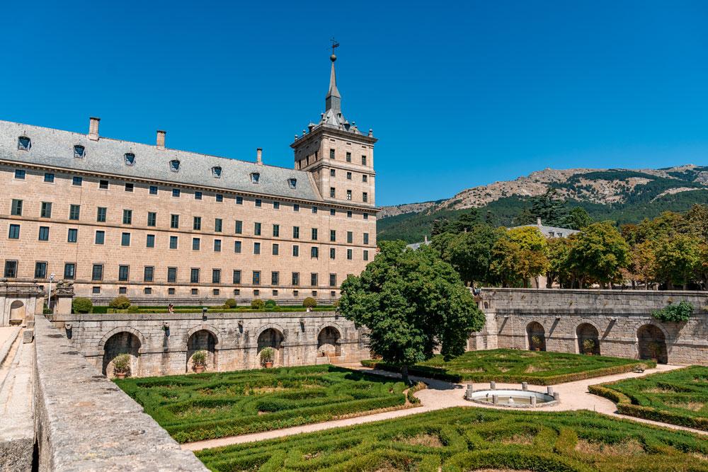 Gardens at the Royal Monastery of San Lorenzo de El Escorial