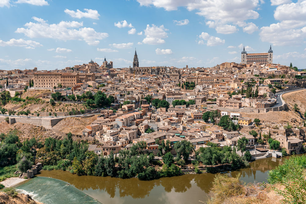 Toledo city from viewpoint