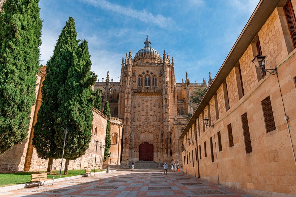 Historical Salamanca Cathedral
