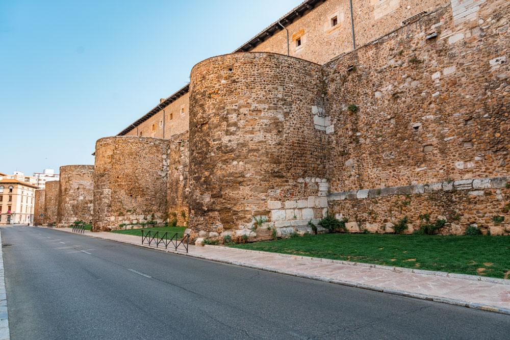 City Walls of Leon, Spain