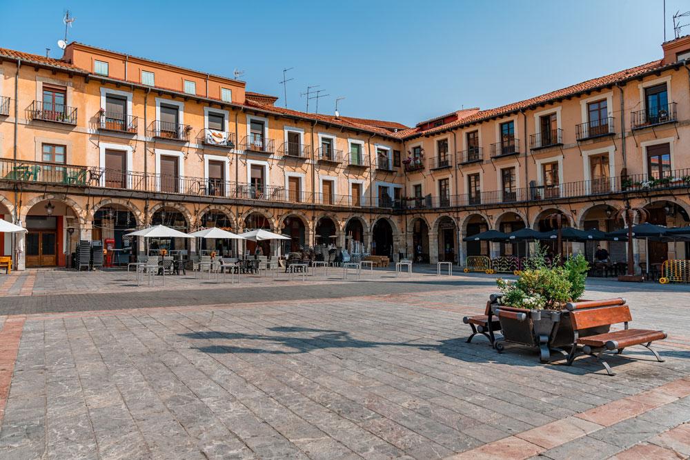 Main Square of Leon