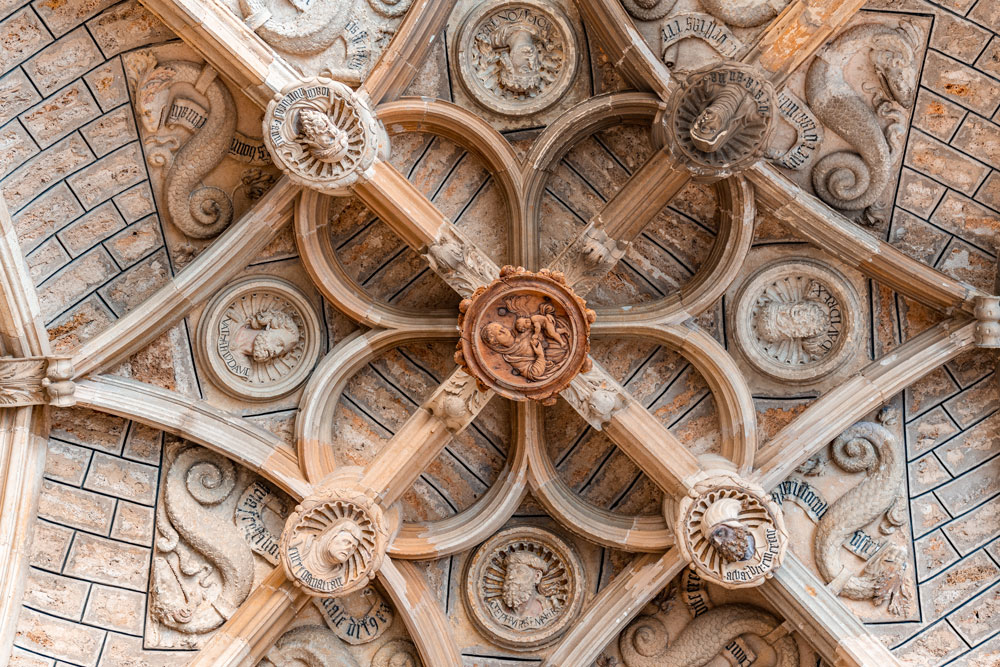 Historical ceiling