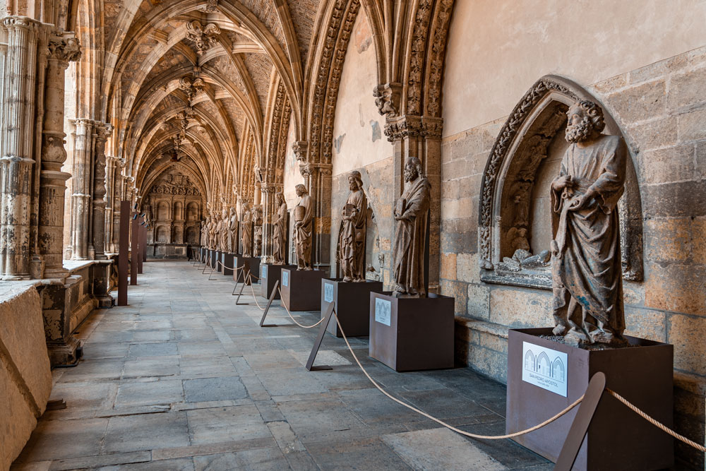 Statues at Cathedral museum