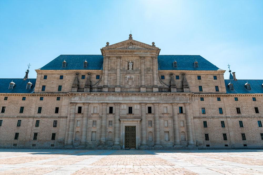 San Lorenzo de El Escorial monastery facade