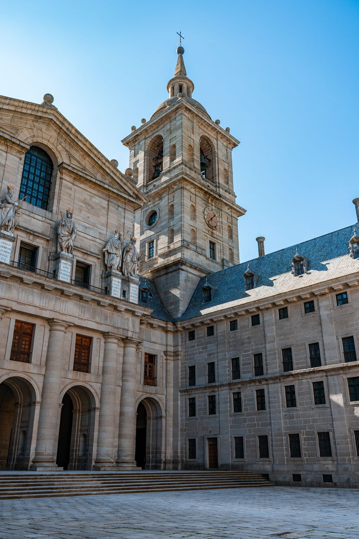 Courtyard view of El Escorial