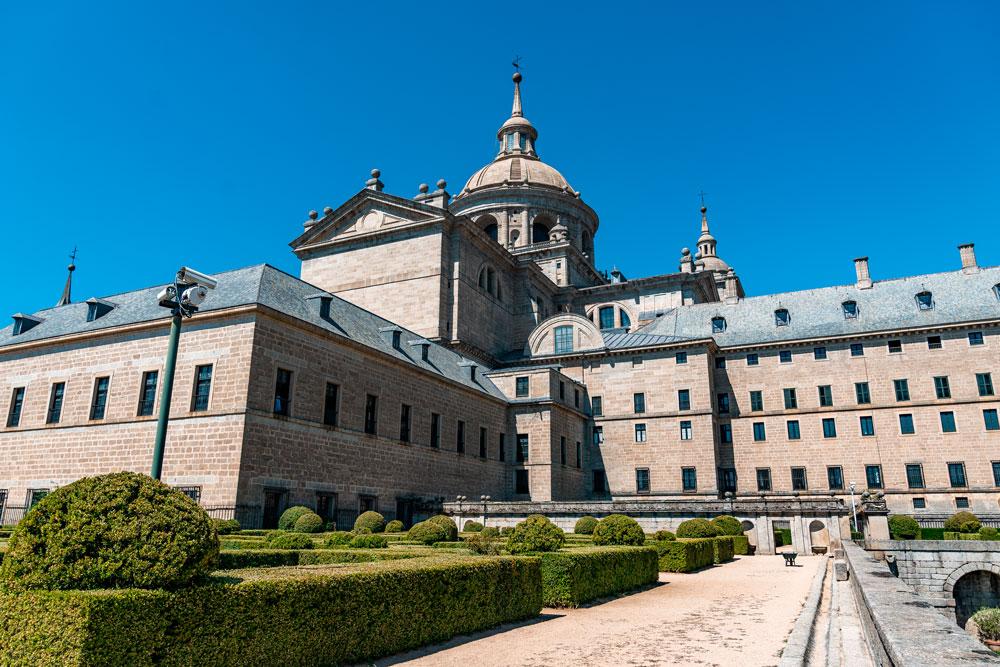 View to Basilica of El Escorial