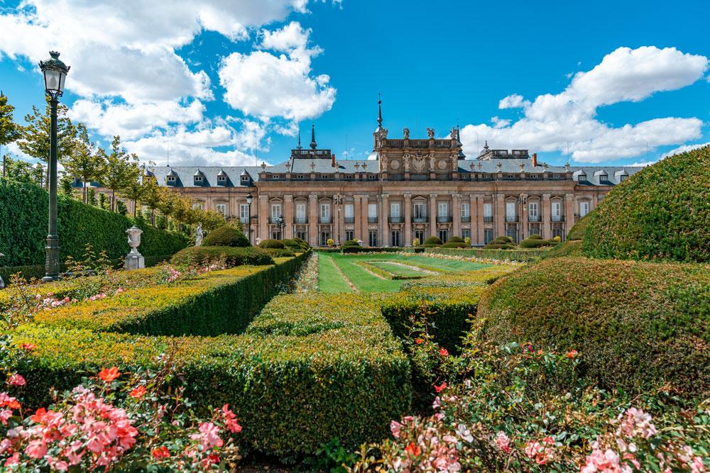 Beautiful Royal Palace gardens