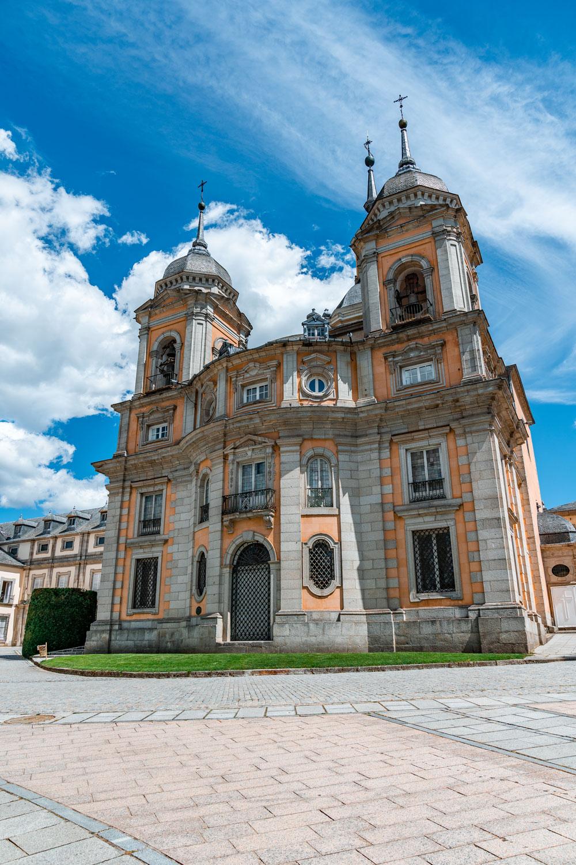 Church at the Royal Palace of La Granja