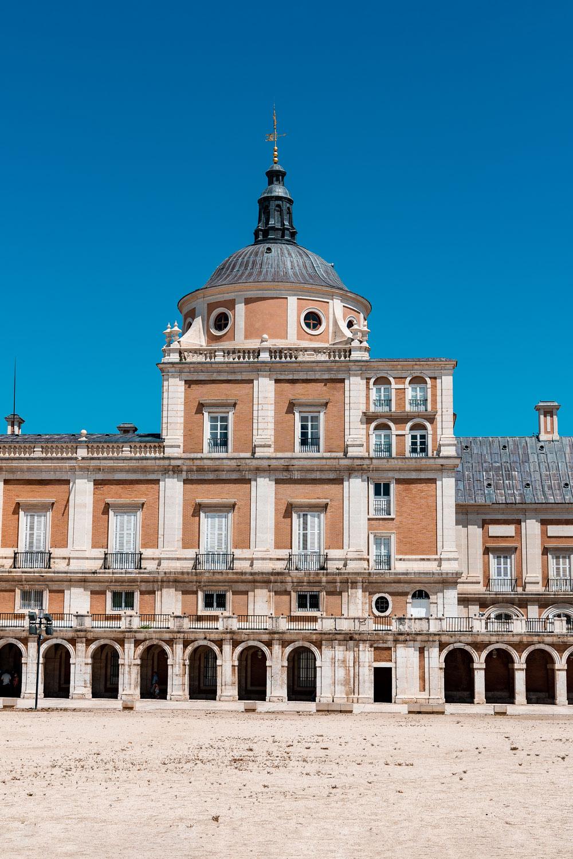 Royal Palace of Aranjuez entrance