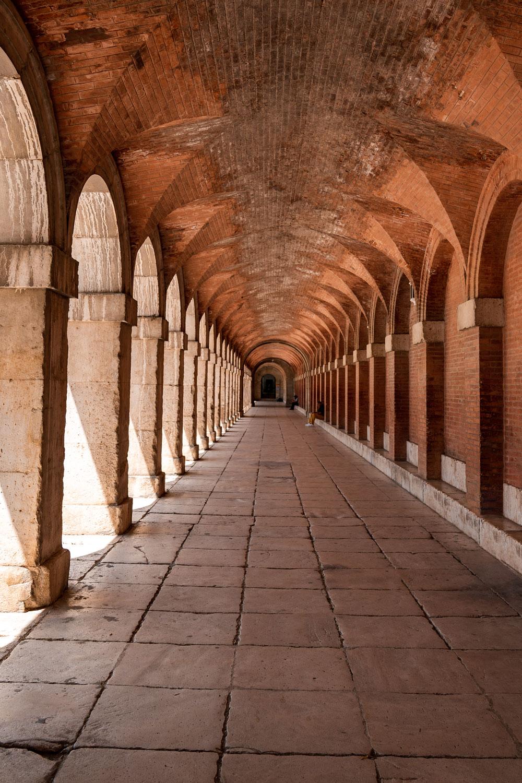 Royal Palace arcade passage
