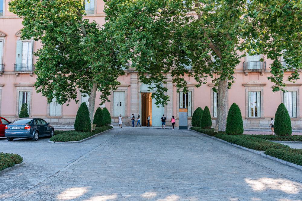 Entrance at the Royal Palace of Riofrio