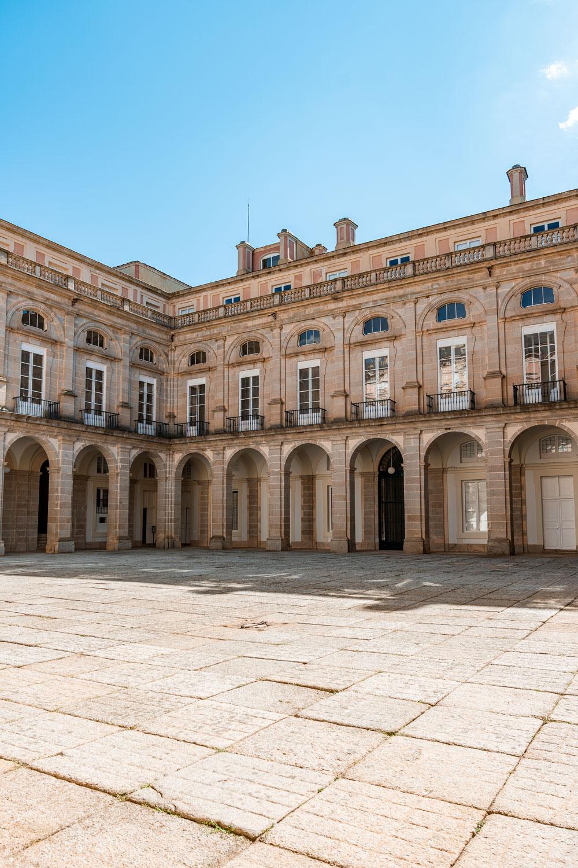 Courtyard at the Royal Palace of Riofrio