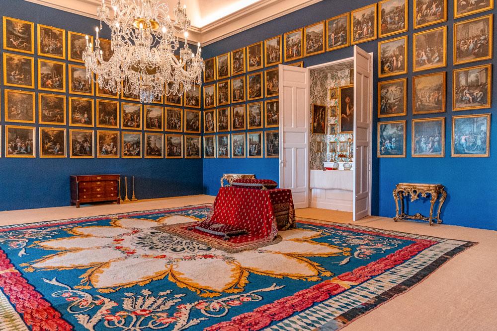 Riofrio Royal Palace interior