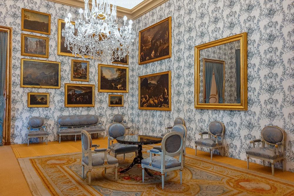 Room at the Royal Palace of Riofrio