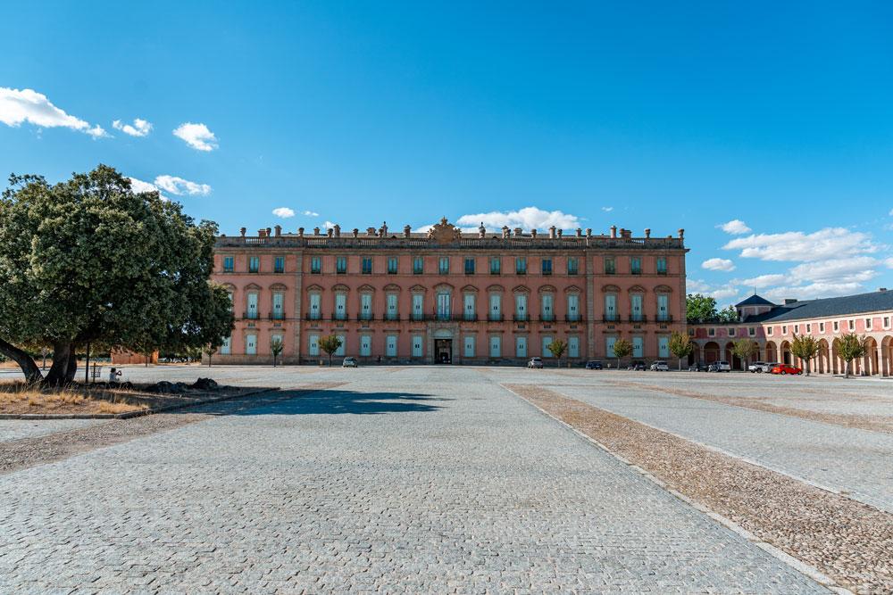 Spanish Royal Family residence at Riofrio