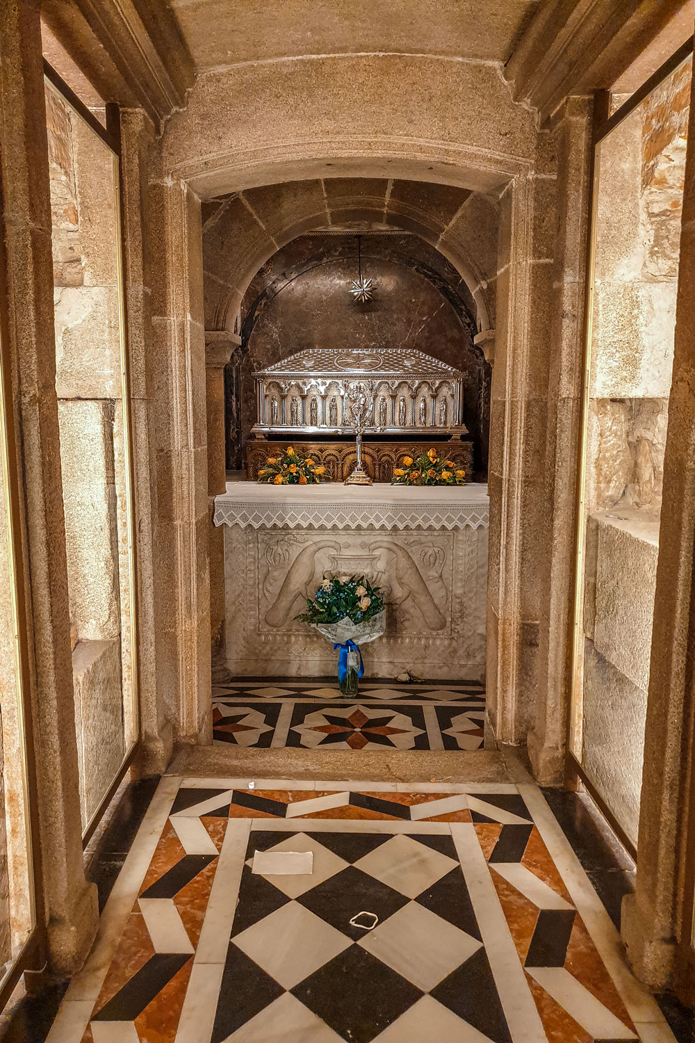 Tomb of Saint James the Great, the apostle of Jesus Christ