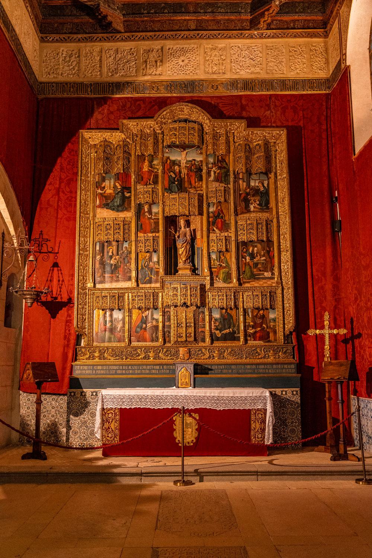 Segovia castle interior