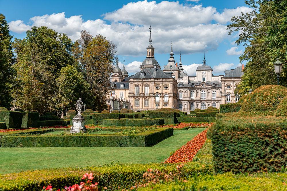 La Granja of San Ildefonso Royal gardens