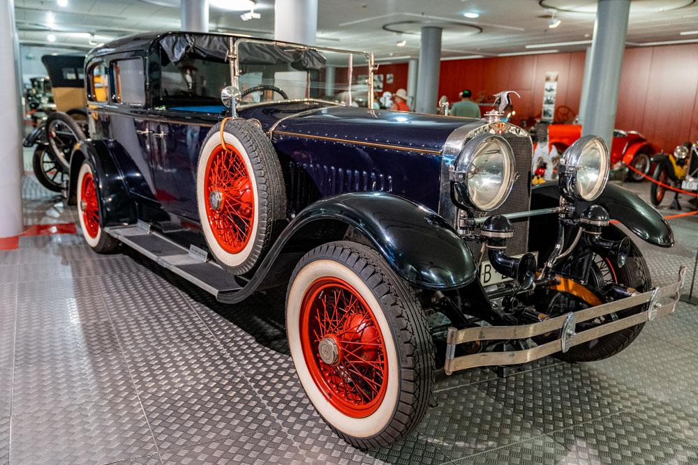 Vintage car at Automobile Museum