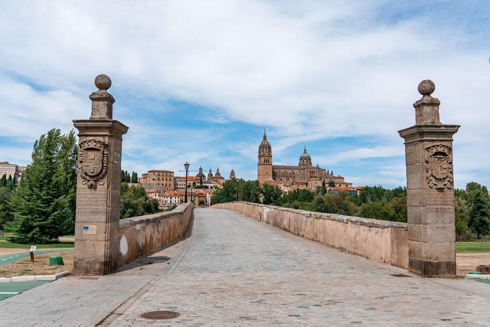 Roman bridge of Salamanca
