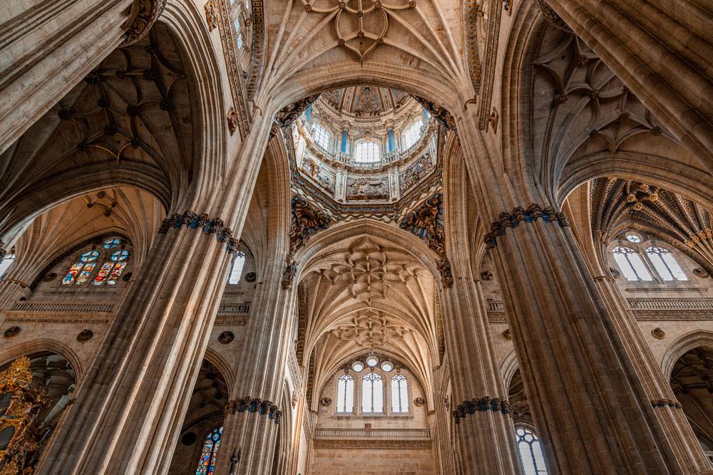 Salamanca New Cathedral interior